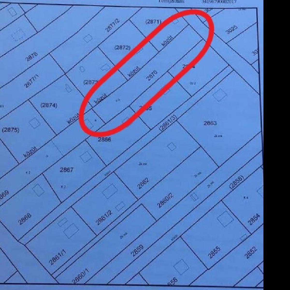 Eladó  telek (Biatorbágy, Petike utca) 3,5 M  Ft