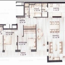 Eladó  téglalakás (Budapest, VI. kerület) 149 M  Ft