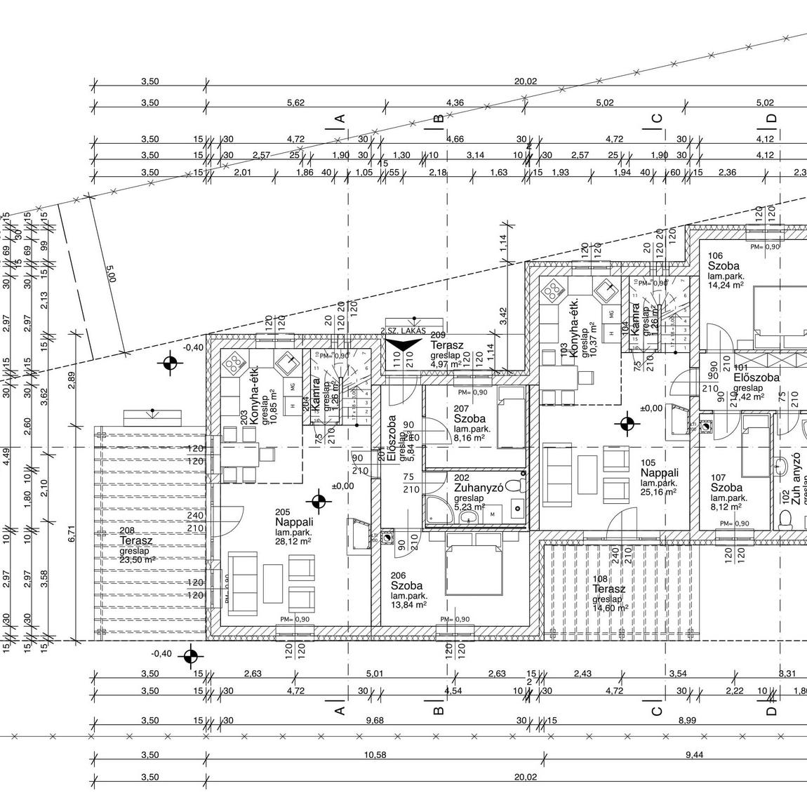 Eladó  ikerház (Csömör) 68 M  Ft