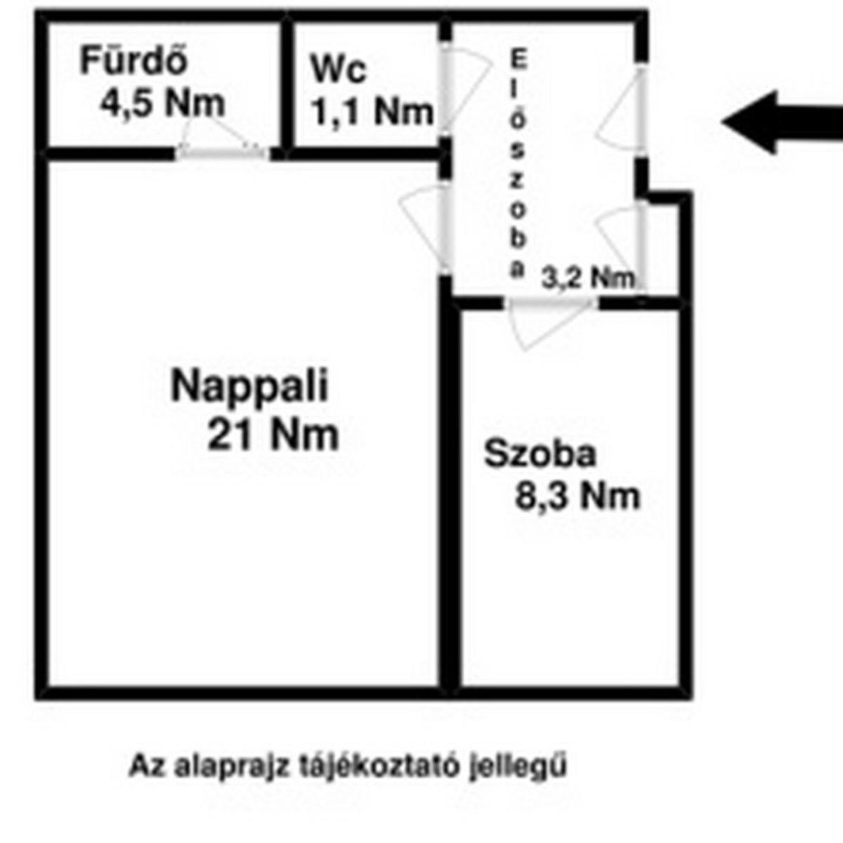 Kiadó  téglalakás (Budapest, XIII. kerület) 165 E  Ft/hó