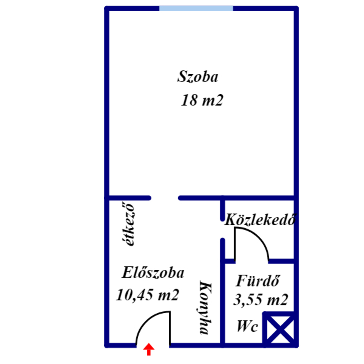 Eladó  téglalakás (Budapest, IV. kerület) 18,9 M  Ft