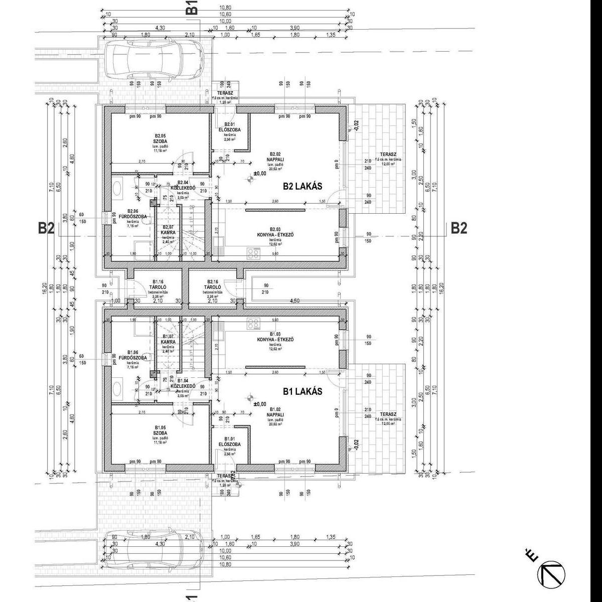 Eladó  ikerház (Fót) 47,5 M  Ft
