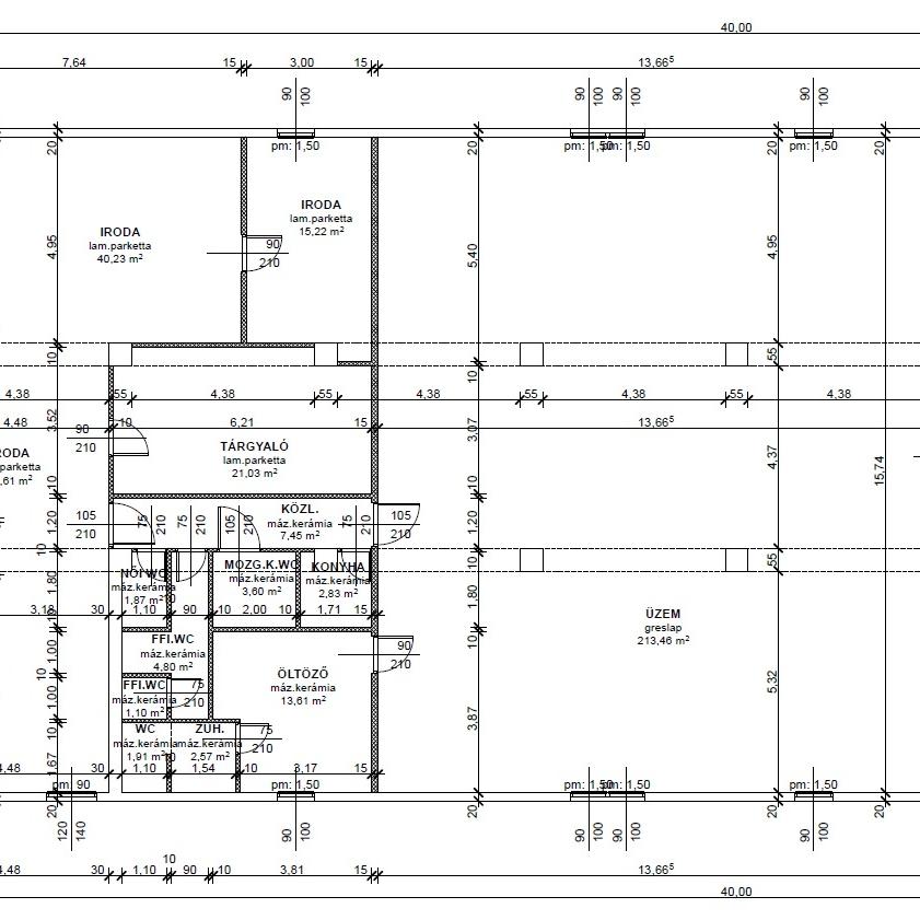 Eladó  ipari ingatlan (Szigetszentmiklós) 62 M  Ft