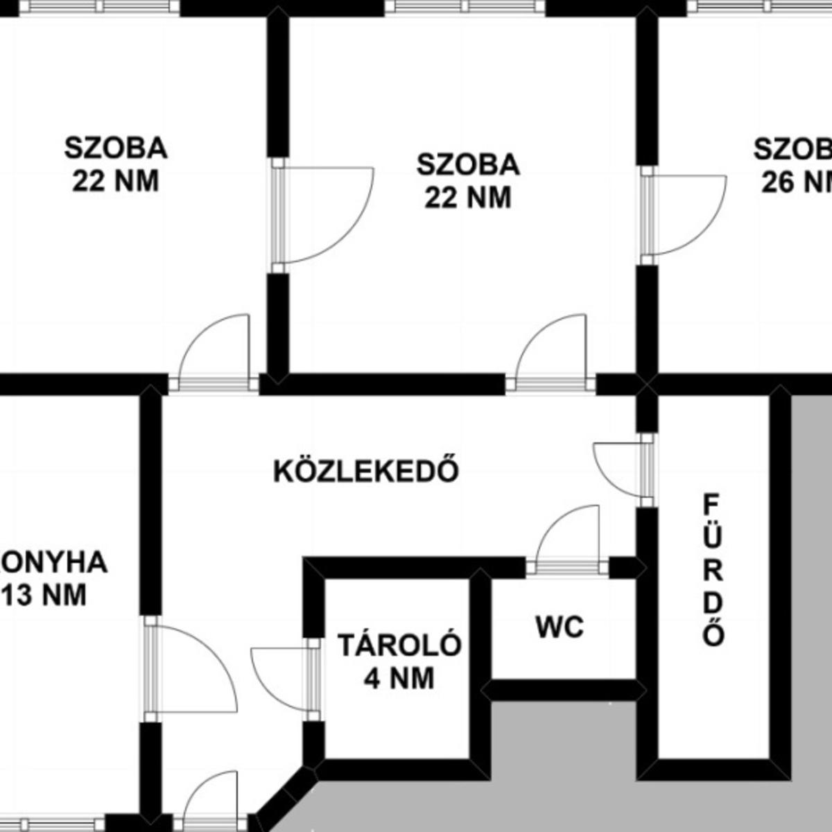Eladó  téglalakás (Budapest, III. kerület) 54,9 M  Ft