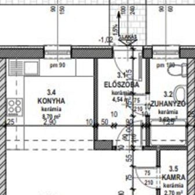 Eladó  sorház (Fót) 39,7 M  Ft