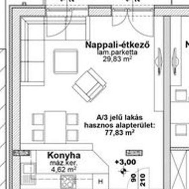 Eladó  téglalakás (Budapest, XIII. kerület) 48,44 M  Ft