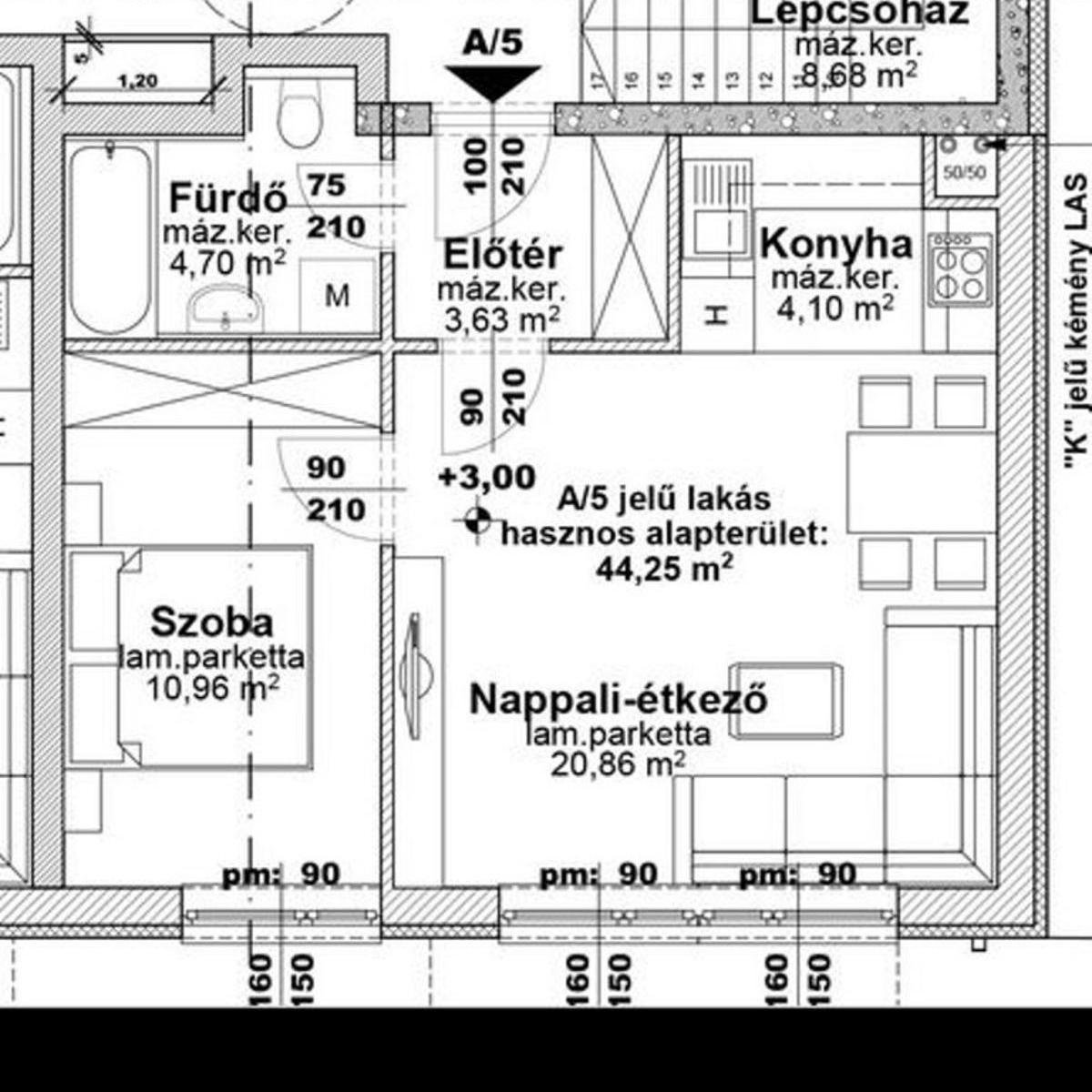 Eladó  téglalakás (Budapest, XIII. kerület) 31,1 M  Ft