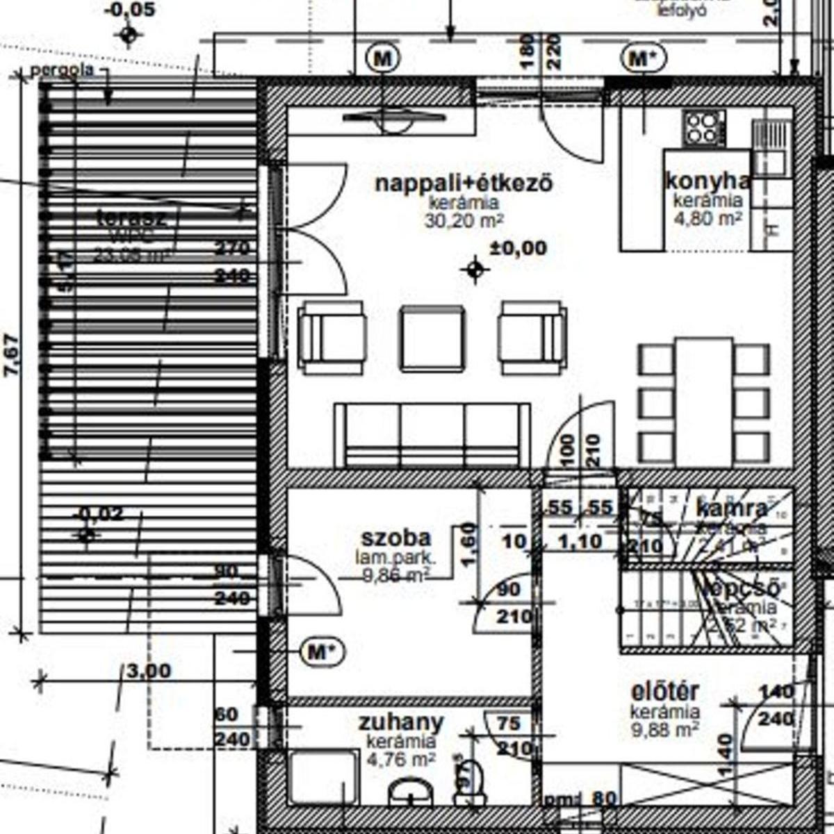 Eladó  ikerház (Dunakeszi) 67,19 M  Ft