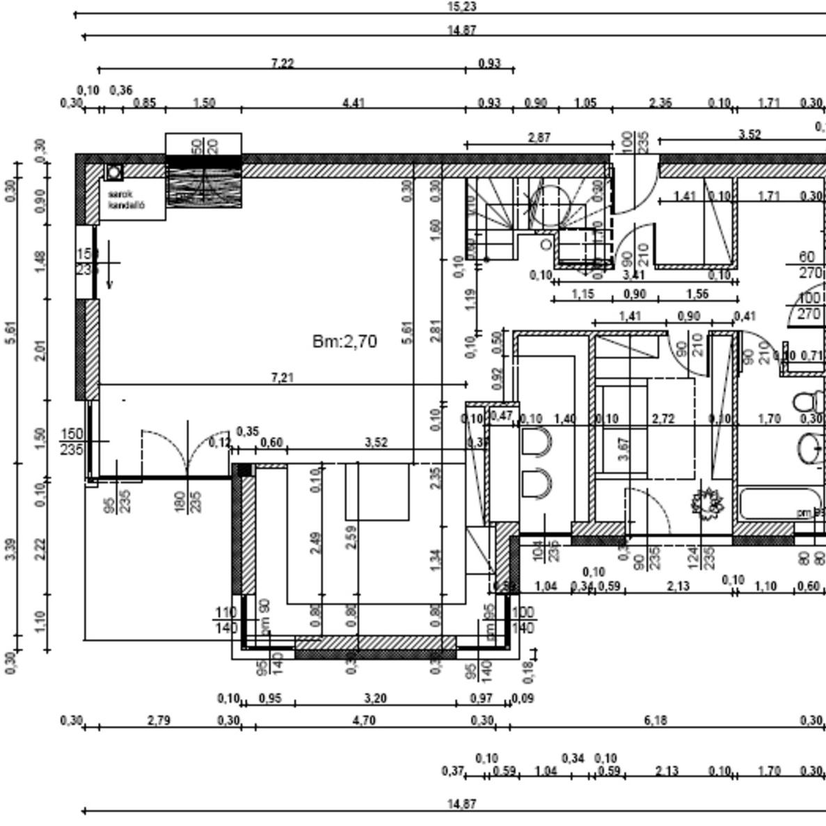 Eladó  családi ház (Budapest, II. kerületBudapest, II. kerület) 93 M  Ft