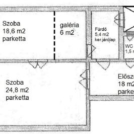 Eladó  téglalakás (Budapest, VII. kerület) 53,5 M  Ft