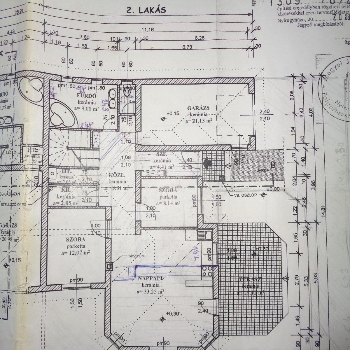 Eladó  ikerház (Nyíregyháza) 56,7 M  Ft