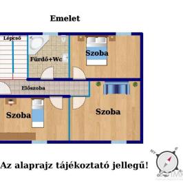 Eladó  családi ház (Diósd, Diósdliget) 54,9 M  Ft
