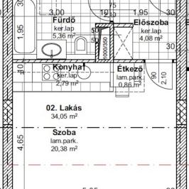 Eladó  téglalakás (Budapest, XIII. kerület) 26,2 M  Ft