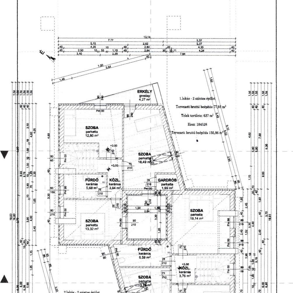 Eladó  ikerház (Budapest, XVI. kerületBudapest, XVI. kerület) 71 M  Ft