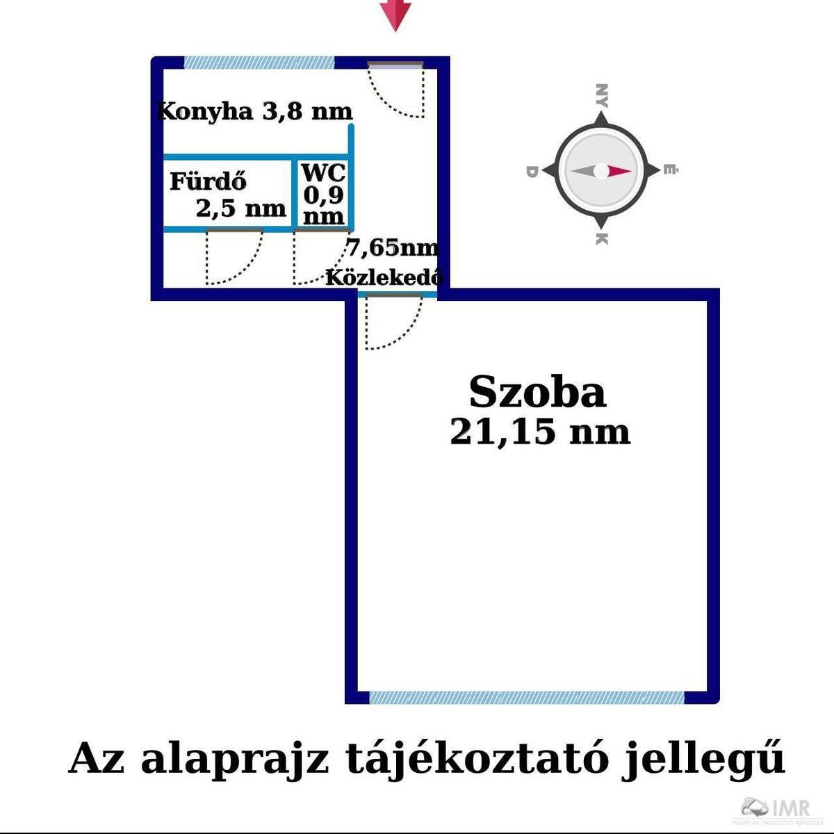 Eladó  panellakás (Budapest, XIII. kerület) 28 M  Ft