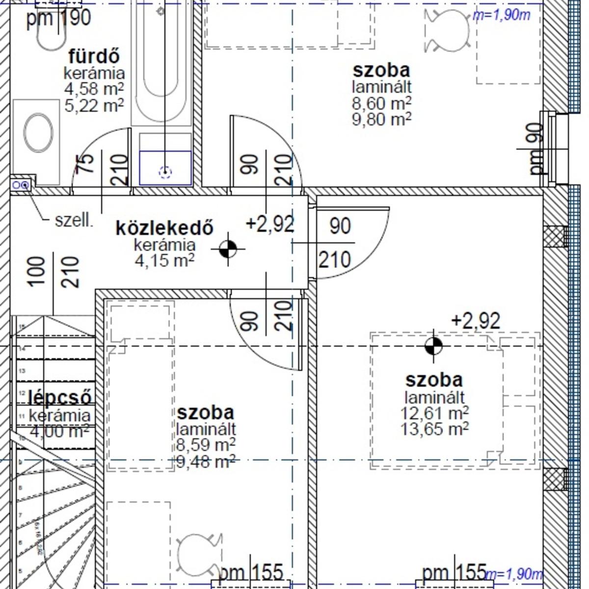 Eladó  téglalakás (Paks) 54,5 M  Ft