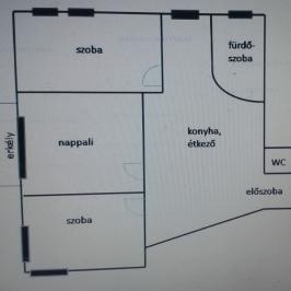 Kiadó  téglalakás (Budapest, XIV. kerület) 245 E  Ft/hó