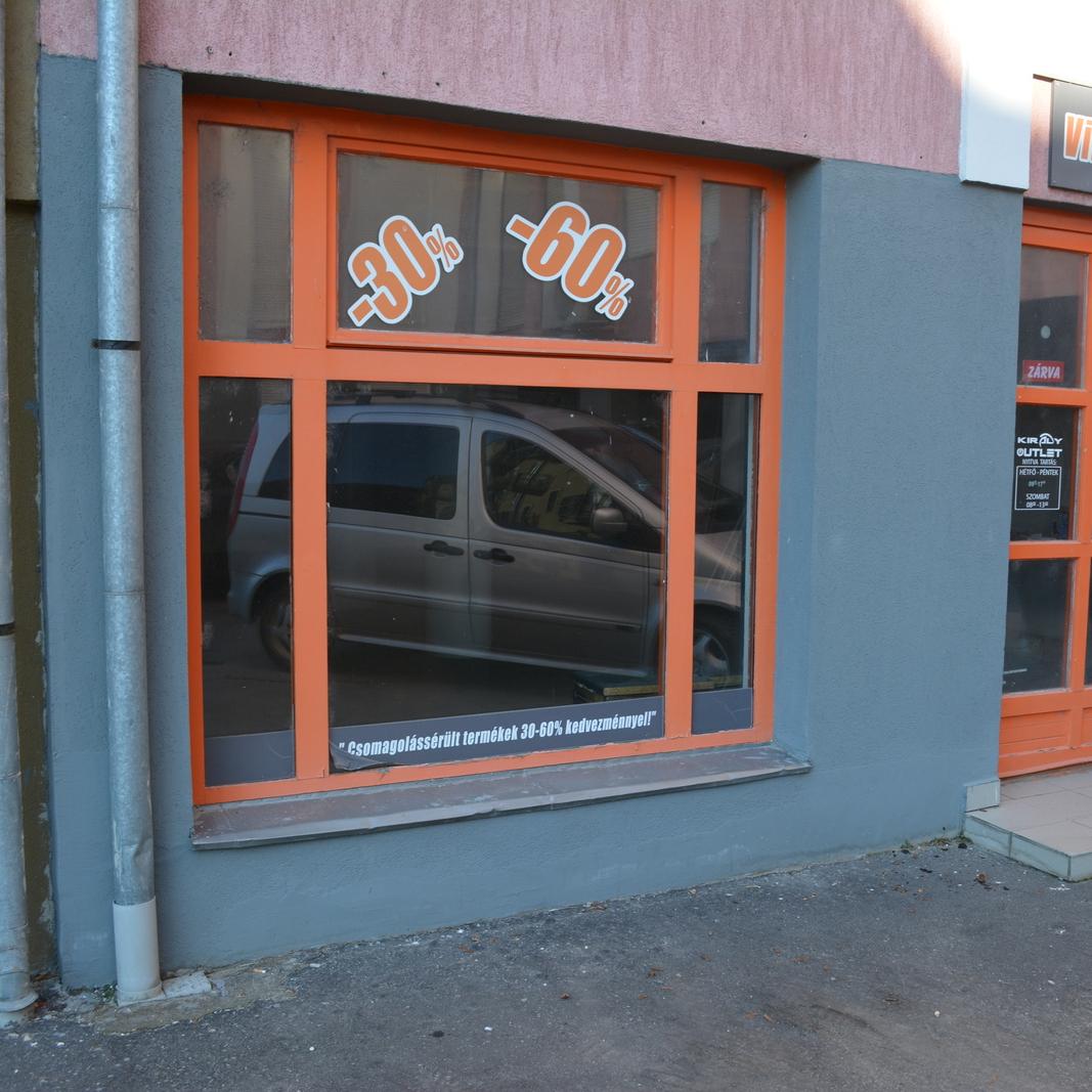 Eladó  üzlet (Nagykanizsa) 10,5 M  Ft
