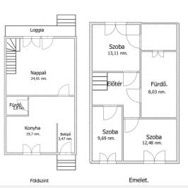 Eladó  sorház (Gödöllő, Antalhegy) 43,9 M  Ft