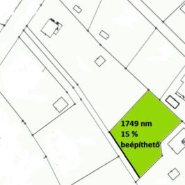 Eladó  telek (Budapest, III. kerület) 115 M  Ft