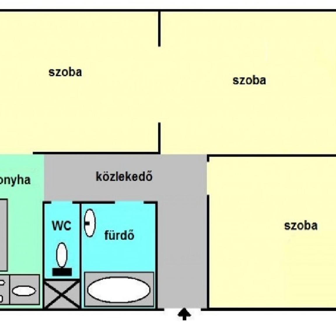 Eladó  panellakás (Budapest, XI. kerület) 36,9 M  Ft