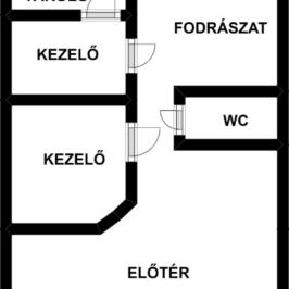 Eladó  üzlethelyiség utcai bejáratos (Budapest, III. kerület) 32 M  Ft