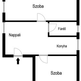 Eladó  családi ház (Nyíregyháza, Borbánya) 12,3 M  Ft