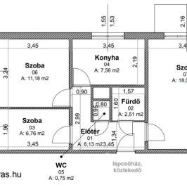 Eladó  panellakás (Esztergom) 16 M  Ft
