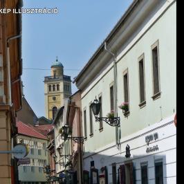 Kiadó  üzlethelyiség utcai bejáratos (Eger, Belváros) 80 E  Ft/hó