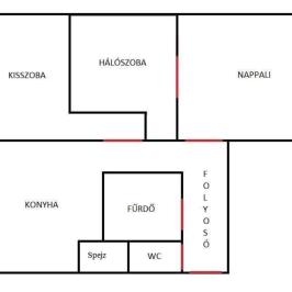 Eladó  panellakás (Vác, Deákvár) 22,5 M  Ft