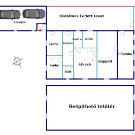 Eladó  családi ház (Budaörs, Kertváros) 75 M  Ft