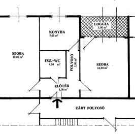 Eladó  panellakás (Nyíregyháza, Belváros) 15,2 M  Ft