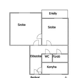 Eladó  panellakás (Budapest, XIII. kerület) 35,7 M  Ft
