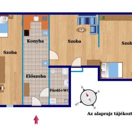 Eladó  téglalakás (Budapest, VII. kerület) 35 M  Ft