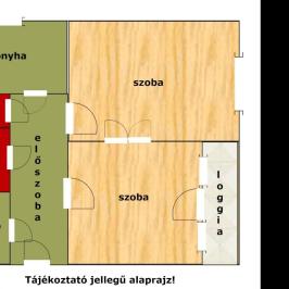Kiadó  panellakás (Budapest, XVIII. kerület) 110 E  Ft/hó
