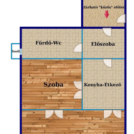 Eladó  téglalakás (Budapest, VII. kerület) 42,5 M  Ft