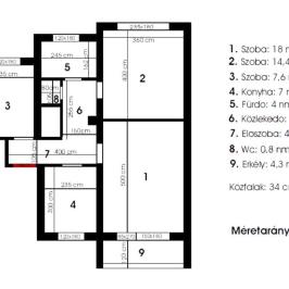Eladó  téglalakás (Budapest, XXI. kerület) 29,9 M  Ft