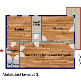 Eladó  téglalakás (Budapest, II. kerület) 67,5 M  Ft