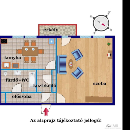 Eladó  téglalakás (Budapest, XI. kerület) 28,4 M  Ft