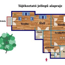 Eladó  téglalakás (Budapest, XIV. kerület) 47,9 M  Ft