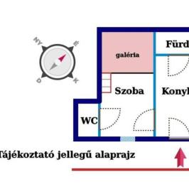 Eladó  téglalakás (Budapest, VII. kerület) 25,9 M  Ft