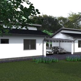 Eladó  ikerház (Nagytarcsa, Füzesliget lakópark) 49,3 M  Ft