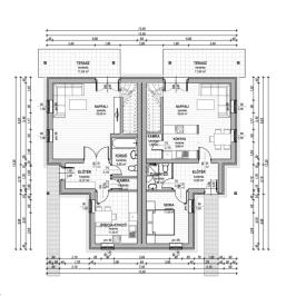 Eladó  ikerház (Sződliget) 51 M  Ft