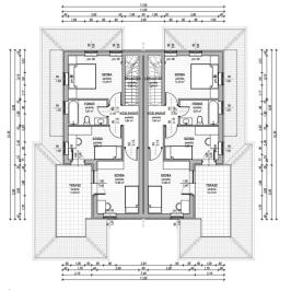 Eladó  ikerház (Sződliget) 54 M  Ft