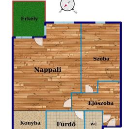 Eladó  téglalakás (Budapest, XIV. kerület) 45,2 M  Ft