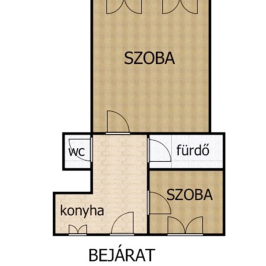 Eladó  téglalakás (Budapest, VII. kerület) 37,5 M  Ft