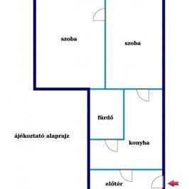 Eladó  téglalakás (Budapest, XXII. kerület) 14,5 M  Ft