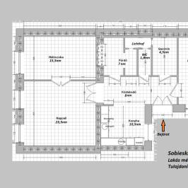 Eladó  téglalakás (Budapest, IX. kerület) 54,99 M  Ft