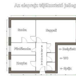 Eladó  panellakás (Rétság) 13,9 M  Ft