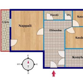 Eladó  panellakás (Kecskemét) 24,99 M  Ft